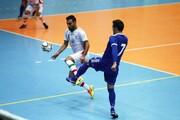 همگروه شدن ایران و تایلند در فوتسال قهرمانی آسیا