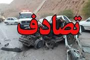 تصادف ۲ خودرو پژو و پراید در ورودی شهر قدس ۳ مصدوم بر جای گذاشت