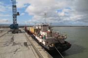 صادرات ۴۵۰ کانتینر کالای ایرانی از کاسپین به چین