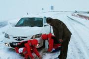 تردد خودروها در سه مسیر ارتباطی زنجان با زنجیرچرخ امکانپذیر است