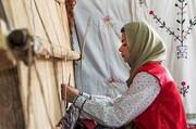 صادرات تولیدات زنان سرپرست خانوار به خارج از کشور