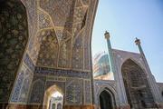 آغاز مرمت گچبریهای ایوان شرقی مسجد جامع اصفهان