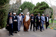 تصویر | دیدار صمیمانه آیتالله عابدینی با دانشجویان دانشگاه فرهنگیان