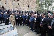 آیین تشییع و خاکسپاری شهردار قصرشیرین برگزار شد