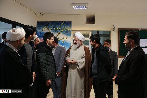 دیدار صمیمانه آیتالله عابدینی با دانشجویان دانشگاه فرهنگیان