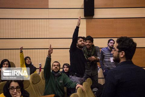تنش در مراسم روز دانشجو با حضور پروانه سلحشوری