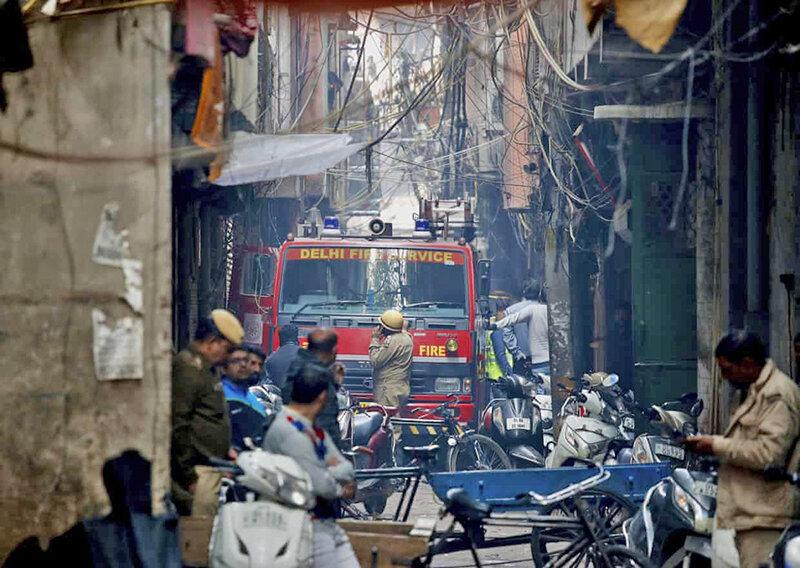آتشسوزي در هند