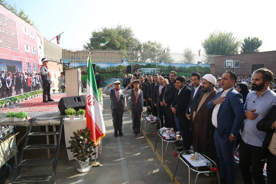 افتتاح مدرسه ابوالوفا