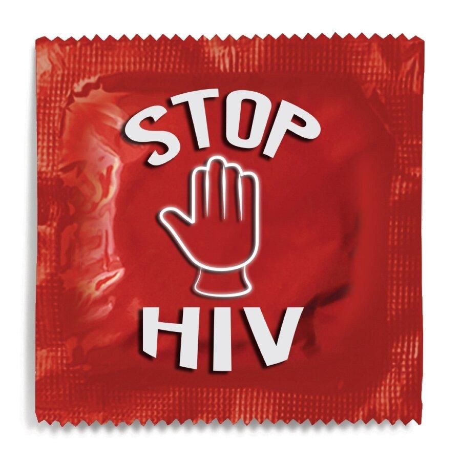 HIV condom