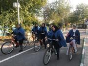 دوچرخه سواری با «لدبا»
