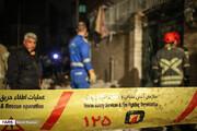 تصویر | انفجار شدید منزل مسکونی چهارطبقه