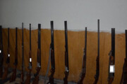 ۱۲ قبضه سلاح شکاری غیرمجاز در رودبار کشف شد