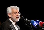 حملات تند جلیلی به روحانی و برجام | میگویند پنج قطعنامه را از بین بردیم اما ...