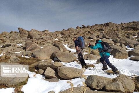 صعود کوهنوردان کرمانشاهی به الوند