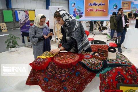 افتتاح نمایشگاه پژوهش، فناوری و فن بازار خراسان شمالی