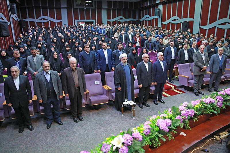 روحاني در دانشگاه فرهنگيان