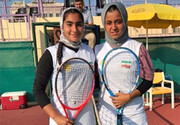 تنیس زیر ۱۳ سال غرب آسیا؛ رحمانی و قوام قهرمان و نایب قهرمان شدند