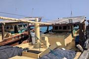 نجات ۶ دریانورد در آبهای کیش