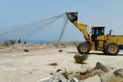 ۳۷هزار متر مربع از اراضی ملی شهرستان ورامین رفع تصرف شد