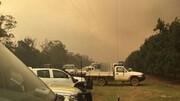 افزایش دما استرالیاییها را مجبور به ترک خانههایشان کرد | ابری از دود در آسمان سیدنی