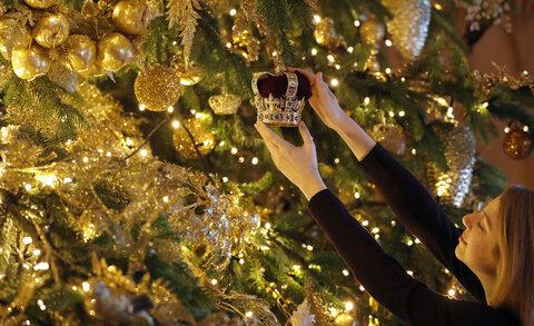 درخت کریسمس گرانقیمت در انگلیس