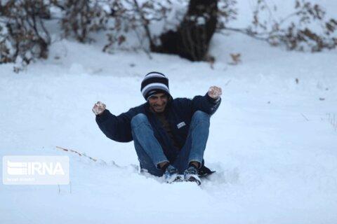 برفبازی