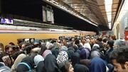 ماجرای ازدحام و تاخیر حرکت قطارهادر خط یک متروی تهران