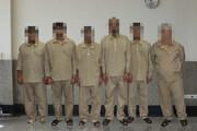 ۶ نفر اعضای یک باند سرقت در فراهان دستگیر شدند