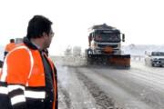 اجرای مانور زمستانی راهداری در استان ایلام