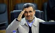 تصاویر حاشیههای جلسه مجمع تشخیص مصلحت | خندههای احمدینژاد و حرفهای درگوشی با لاریجانی