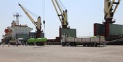 نخستین کشتی حامل کالای اساسی در بندر بوشهر پهلو گرفت