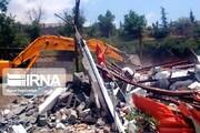 ۲۵۲ مورد ساخت و ساز غیرمجاز شمیرانات تخریب شد