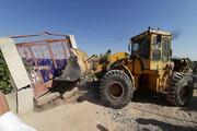 تخریب ۴۰ مورد ساخت و ساز غیرمجاز در قزوین