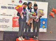سنگنوردی نوجوانان و جوانان قهرمانی آسیا؛ کسب دو مدال طلا و یک نقره