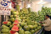 توزیع هندوانه شب یلدا با قیمت مناسب در ارومیه