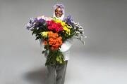 تولید کاپشنی با گلهای وحشی