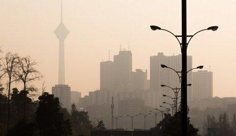 اخطار هواشناسی درباره تشدید آلودگی هوای تهران و چهار شهر دیگر