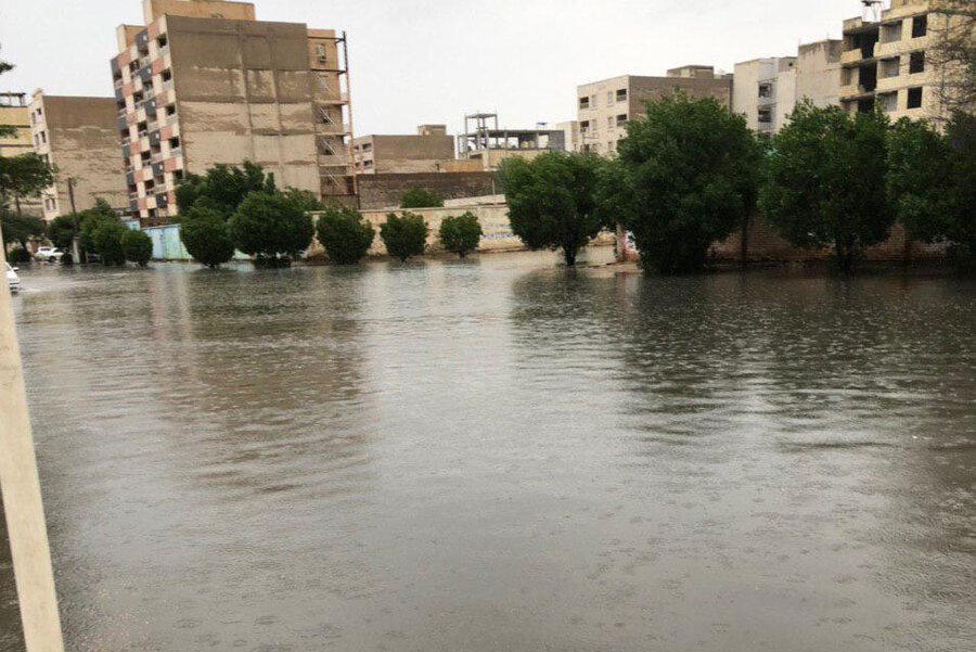 آبگرفتگي شهر اهواز 2
