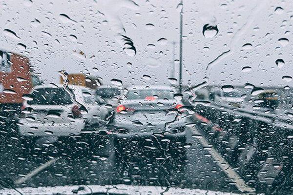 آب و هوا بارانی
