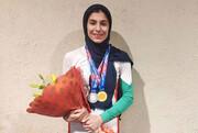 سنگنوردی نوجوانان و جوانان قهرمانی آسیا؛ دارابیان در ماده سرعت هم طلا گرفت