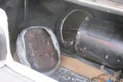 کشف ۶۰ کیلو تریاک در سیلندر گاز تیبا