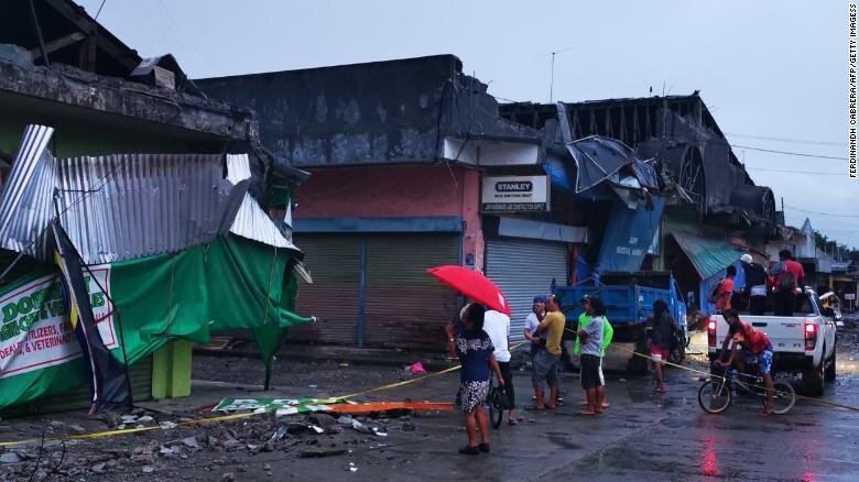 زلزله ۶.۸ ریشتری در فیلیپین | یک دختر شش ساله بین جانباختگان است