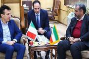 ظرفیتهای خوب ایران و ایتالیا در توسعه گردشگری قزوین