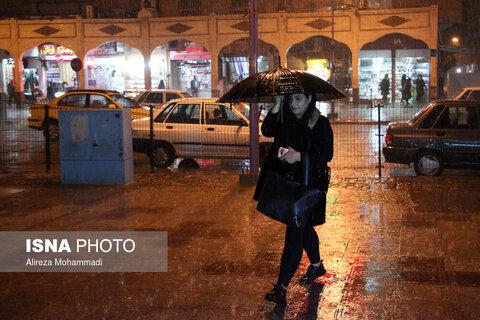 بارش شدید باران در اهواز