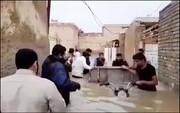 فیلم | کوت عبدالله؛ غرق در آب و فاضلاب
