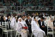 تصویر   جشن ازدواج ۱۵۰۰ زوج هرمزگانی