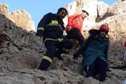نجات دو بانوی کرمانی گرفتار در کوه