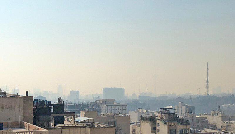 هواي آلوده تهران