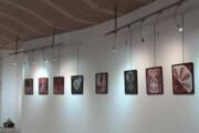 گشایش نمایشگاه طراحی بدون قلم در کرمان