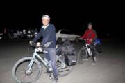 ۱۱۰۰ کیلومتر رکابزنی به یاد جانباختگان زلزله بم